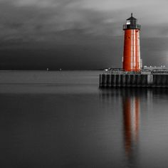 *Lighthouse (Touch of Color)