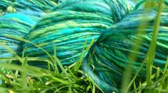 Greens and blues, Corespun