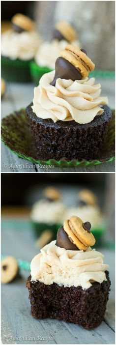 moist-chocolate-cupcakes-with-peanut-butter-frosting-abajillianrecipes.com