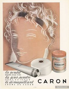 Caron (Cosmetics) 1953