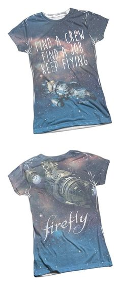 34.95 - Keep Flying -- Firefly Front Back Sports Fabric Juniors T-Shirt e190d679d