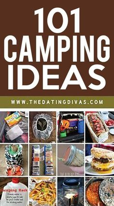 Over 100 genius camping hacks, tips, & ideas! Including camping recipes, camping gear, & camping packing & organization tips & tricks #camping