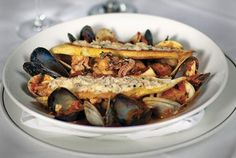 And if you're looking for something a little different to spice up your night, Truluck's Cioppino hits the spot!