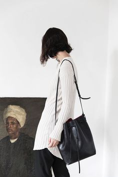 in Filippa K White long ribbed sweater 67726098ca2b3