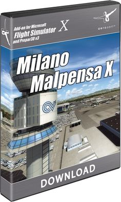 AEROSOFT : Milano Malpensa X The Brughiera plains to the north-west of Milano rank as the cradle of Italian aircraft consutrction. Today, Milano-Malpensa is one of merely a few airports left in this historic region. Malpensa is the second largest airport in Italy and serves as a hub for Alitalia, the largest Italian airline.  Discover Milano-Malpensa with this highly detailed recreation for FSX, FSX Steam and P3D. Seasonal photo textures with a 0.5m/px resolution, highly detailed and…