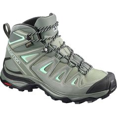 outlet store ae5f2 a205f Salomon - X Ultra 3 Mid GTX Hiking Boot - Women s - Shadow Castor Gray