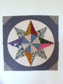 Photo on Janine's Stitches: Camelot block, no tutorial, of course, but look at how beautiful this is! Mariners Compass, Civil War Quilts, Foundation Piecing, Barn Quilts, Show Photos, Quilt Blocks, Bunt, Applique, Patches