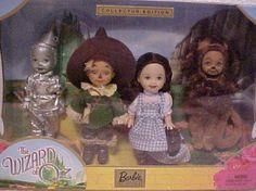 Kelly Dolls (Barbie) Wizard of Oz