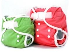 Thirsties Duo Diaper $18.50 I want to get the smaller sized ones so we don't have so much of an issue with size.