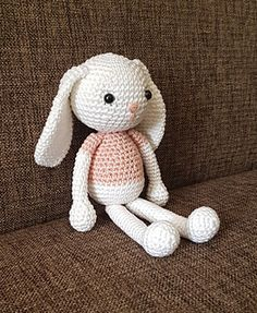 This is Jenny the Bunny, she is 20 cm tall.