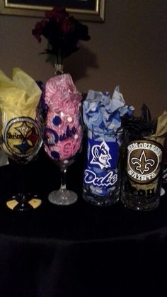 Hand painted glasses done by me see!