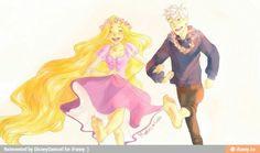 Rapunzel and Jack