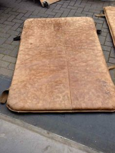 gymnastic leather matras - for sale