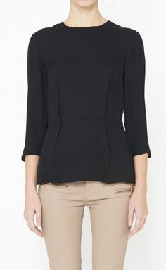 Tibi Black Top