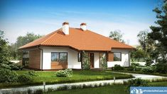 These single floor houses under 130 square meters feature fine architecture, while offering plenty of space inside for family activities. Square Meter, Design Case, House Front, Family Activities, Tiny House, Gazebo, Outdoor Structures, Flooring, Outdoor Decor