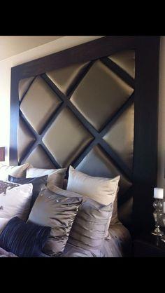 27 Ideas For Decor White Bedroom Head Boards Master Bedroom Design, Home Bedroom, Bedroom Furniture, Bedroom Decor, Bedroom Ideas, Headboard Decor, Headboard Designs, Suites, Headboards For Beds