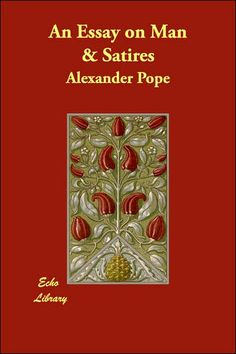 Alexander Pope An Essay on Man    ppt download