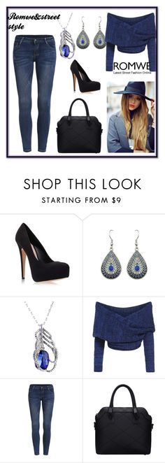 """""""Romwe&street style"""" by fatimka-becirovic ❤ liked on Polyvore featuring Carvela Kurt Geiger and romwe"""
