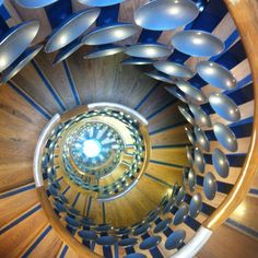 Staircase at The Magic Circle HQ in London....don't worry, I'm not a Magician, I was there for a Social Media Seminar!