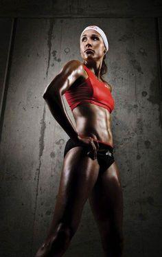 "Track and field and bobsled athlete, Lori ""Lolo"" Jones http://fitness-bodybuilding-beauties.blogspot.com/2015/03/lolo-jones-fitness-beauty.html"