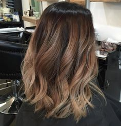 Soft Beige Balayage for Thick Hair