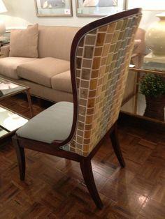 tweet pic from @Kristina Brogren -- LisaLKahn upholstery treatment in the Chelsea House showroom. johnathancharles chair with Kravet fabric #hpmkt #fall 2013 pic.twitter.com/vEhwUS8OWk