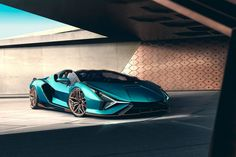 View Photos of the Lamborghini Sián Roadster
