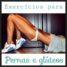 4 exercícios simples para tonificar pernas e glúteos