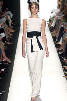 Oscar de la Renta | Spring 2005 Ready-to-Wear Collection | Style.com