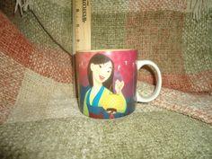 Disney's Mulan ceramic coffee mug cup