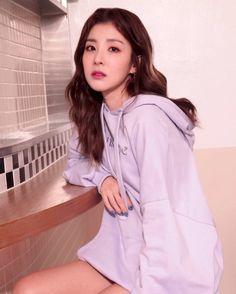 Dara for Penshoppe Sandara 2ne1, Sandara Park Fashion, Pastel Hoodie, 2ne1 Dara, Penshoppe, Becky G, G Dragon, Yg Entertainment, Korean Singer