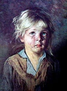 Kind bild bragolin weinendes Die Bilder