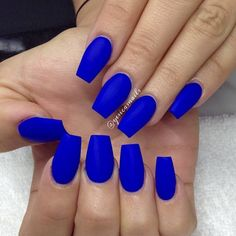 """""""There's something about this blue!! """"Bright Night-Color Club"""""""""""