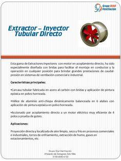Extractor Inyector Tubular directo
