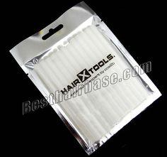 White Keratin Glue Gun Sticks for Hair Extensions 24pcs #salon #hairtools #keratinglue #gulestick #diy