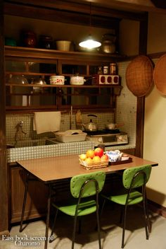 Japanese tiny kitchen / 昭和の風景/Japanese old kitchen 70s Kitchen, Wooden Kitchen, Kitchen Dining, Kitchen Ideas, Kitchen Small, Japanese Kitchen, Asian Home Decor, Japanese Interior, Vintage Kitchen Decor