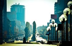 Morning at Victory Square (Kiev) by Alexandr Gusev on 500px