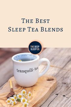 Do you have trouble getting to sleep at night? A sleep tea blend is a delicious and natural sleep aid. But, what exactly is a sleep tea blend and how do you choose the best one for you? Natural Sleep Remedies, Natural Sleep Aids, Cold Home Remedies, Insomnia Remedies, Sleep Drink, Sleep Tea, Good Sleep, Best Teas For Health, Health Tips