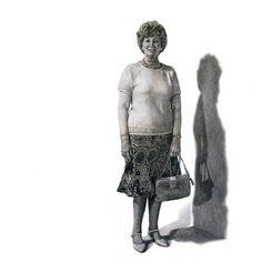 "Saatchi Online Artist: Jonny Shaw; Pencil, 2007, Drawing ""64 Years"""