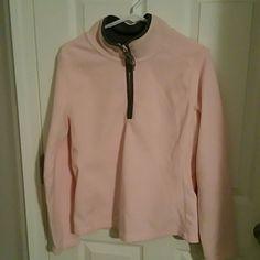 3/4 zip Old Navy fleece 3/4 zip Old Navy fleece. Gently worn pink & grey. Super cute. Size M. I bundle with a discount! Old Navy Tops Sweatshirts & Hoodies