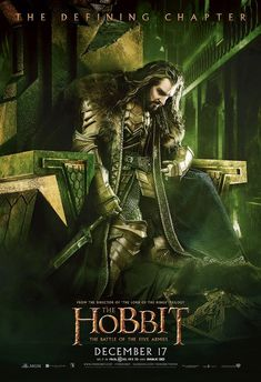 Banners and posters of The Hobbit the Battle of the Fives Armie