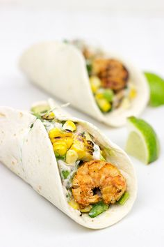 These Southwest Shrimp Tacos are easy and loaded with flavor… perfect for a fun summer dinner!