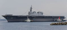 Japan has inducted into service its largest warship since WWII, the 814 foot long Izumo. The activation of such a large ship, dubbed a 'Helicopter Destroyer.'