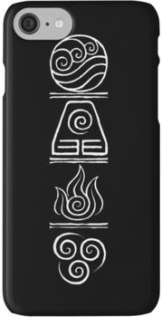 Avatar- The Four Elements iPhone 7 Cases