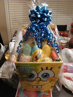 Spongebob Easter basket