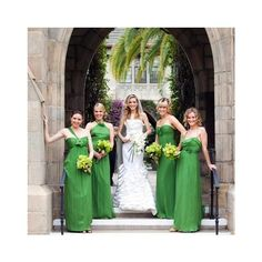 The Bridesmaids ❤ liked on Polyvore featuring wedding