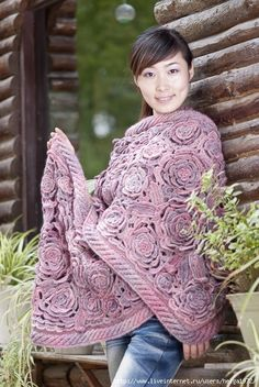 Outstanding Crochet: Chinese Roses. Pattern. (I need to learn how to read patterns, because this is cool.)