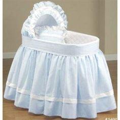 Baby Doll -Sweet Petite Bassinet Bedding Set - Color Blue
