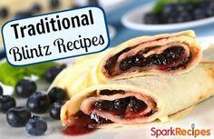 Hanukkah Blintz Recipes | via @SparkPeople #food #holiday