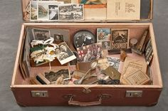 Photographic Study of Recovered Suitcases From Willard Insane Asylum